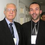 Impreuna cu Prof. Dr. Ricardo Baroudi, Presedintele ISAPS (Societatea Internationala de Chirurgie Plastica si Estetica) in perioada 1995 - 1997, la Simpozionul Societatii Braziliene de Chirurgie Plastica - Sao Paulo, aprilie 2006