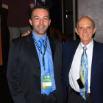 With Dr. Claude Lassus (France), the inventor of the vertical breast reduction at Plastic Surgery Congress of the Golf States Comunity, Riyadh, Saudi Arabia, April 2008