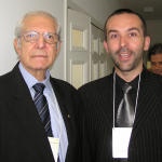 With Prof. Dr. Ricardo Baroudi, ISAPS President (Societatea International Society of Aesthetic Plastic Surgery) from 1995 to 1997, at Brazilian Society of Plastic Surgery Symposium - Sao Paulo, April 2006