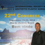 Speaker at The 22nd Congress of the International Society of Aesthetic Plastic Surgery (ISAPS) – Rio de Janeiro, Brazil, 2014