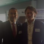 With Dr. Alexis Verpaele (Belgium), at The Czech National Congress of Plastic Surgery – Ceske Budejovice, Czech Republic, 2014