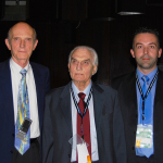 With Dr. Claude Lassus (France) and Dr. Pierre Fournier (France), Honorary President of the French Society of Plastic Surgery at Plastic Surgery Congress of the Golf States Comunity, Riyadh, Saudi Arabia, April 2008