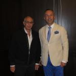 Impreuna cu Prof Bishara Atiyeh (Liban) la International Cosmetic Congress 2017 – Cairo, Egipt