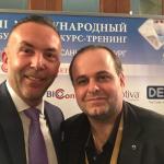 Impreuna cu Dr. Marcos Sforza (Brazilia) la The 7th  International Training Course for Plastic & Reconstructive Surgeons – Saint Petersburg, Russia, 2017