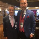 Impreuna cu Dr. Luis Fernando Perin (Brazilia) la The 47th  Argentinian Congress of Plastic Surgery – Buenos Aires, Argentina, 2017
