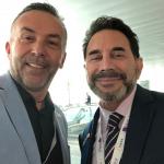 Impreuna cu Dr. Paul Nassif (USA) la The 24th  Biennial Global Congress of the International Society of Aesthetic Plastic Surgery (ISAPS) – Miami Beach, Florida, USA, 2018