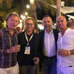 Impreuna cu Dr. Alexis Verpaele (Belgia), Gary Alter (USA) and Jan Fabre (Belgia) la The 24th  Biennial Global Congress of the International Society of Aesthetic Plastic Surgery (ISAPS) – Miami Beach, Florida, USA, 2018
