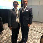 Impreuna cu Prof. Dr. Cemal Senyuva (Turcia) la The 24th  Biennial Global Congress of the International Society of Aesthetic Plastic Surgery (ISAPS) – Miami Beach, Florida, USA, 2018