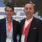 Împreună cu Dr Patrick Mallucci (UK) la The 7th International Breast Symposium Dusseldorf 2019 (Germania)