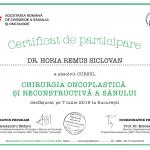 certificat de participare chirurgia oncoplastica