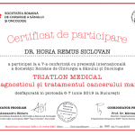 certificat de participare triatlon medical